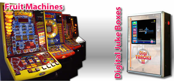 Game Amusements, Fruit Machines and Digital Juke Boxes Commercial Services